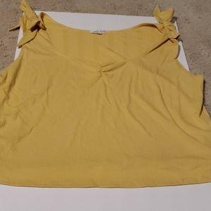 Womens Ophelia Roe Yellow tank